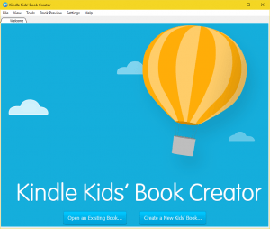 kindle kid's book creator