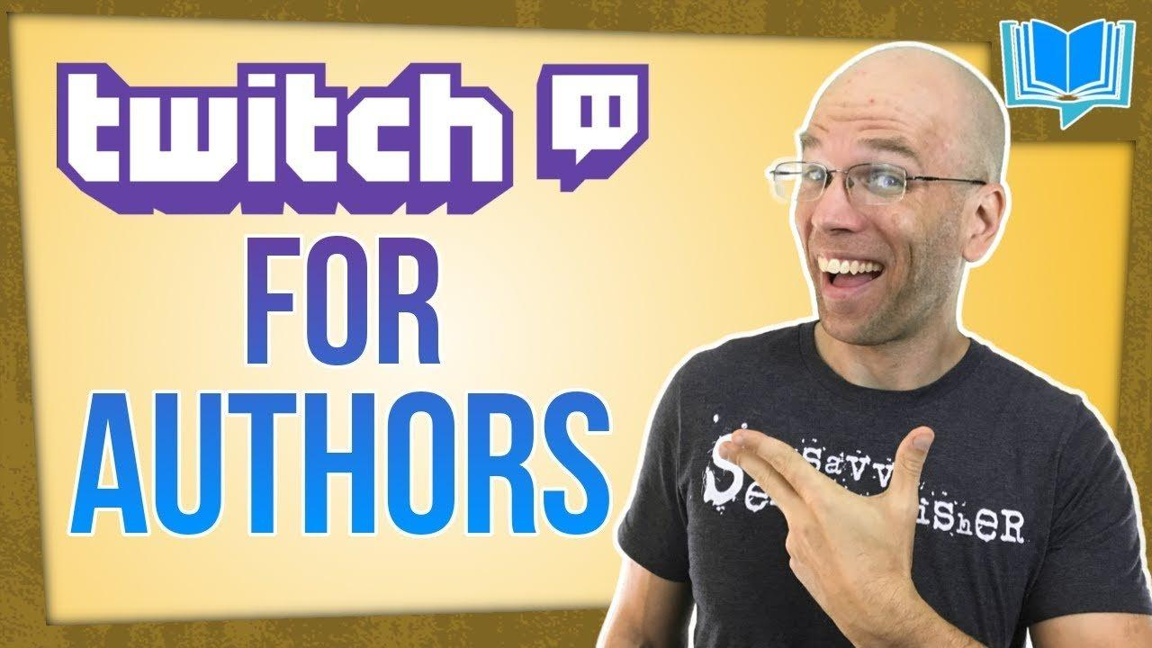 building an author platform with twitch creative