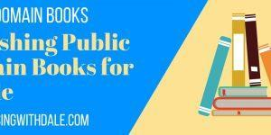 publishing public domain books