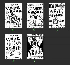 drafted ideas for book cover design by Dcamorlinga