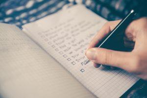 checklist for book marketing