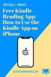 use the kindle app on iphone